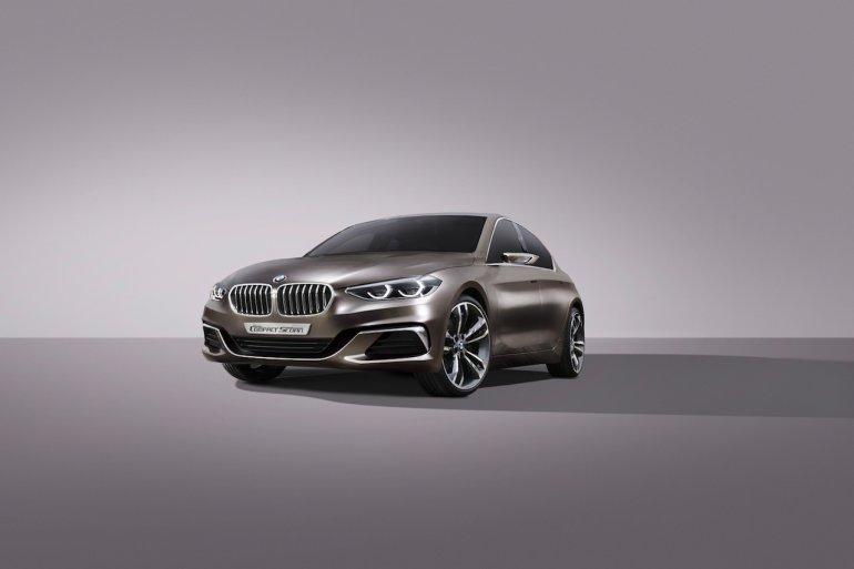 BMW Compact Sedan Concept interior press shots