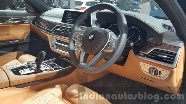 2016 BMW 7 Series interior at 2015 Thai Motor Expo