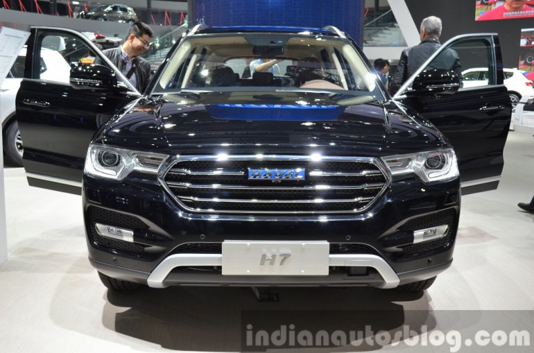 Haval H7 face at the 2015 Shanghai Auto Show