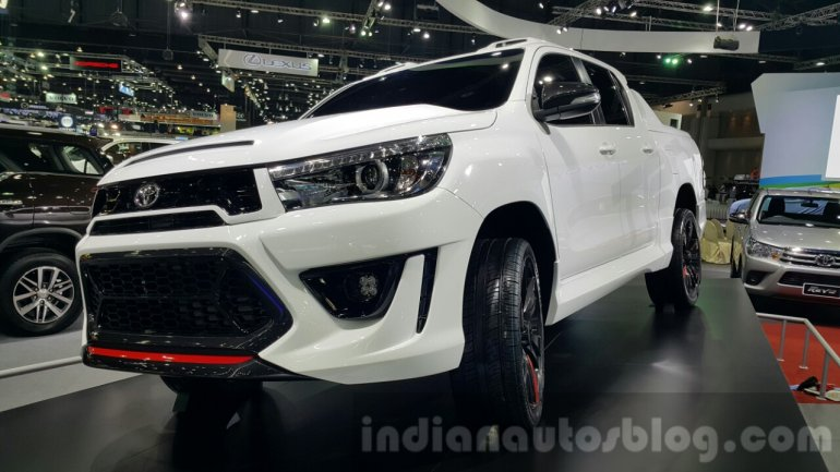 Toyota Hilux Revo TRD concept at 2015 Thailand Motor Expo