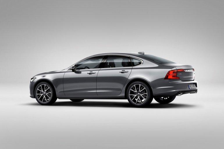 Volvo S90 rear three quarter unveiled