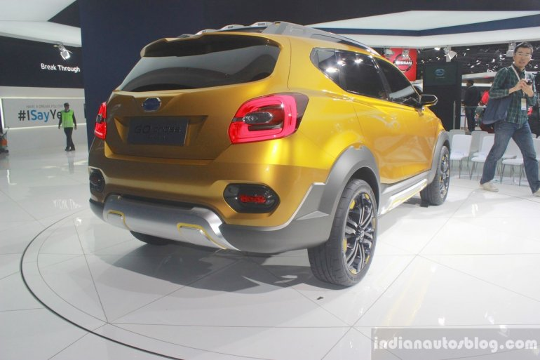 Datsun Go Cross Concept rear three quarter view at Auto Expo 2016