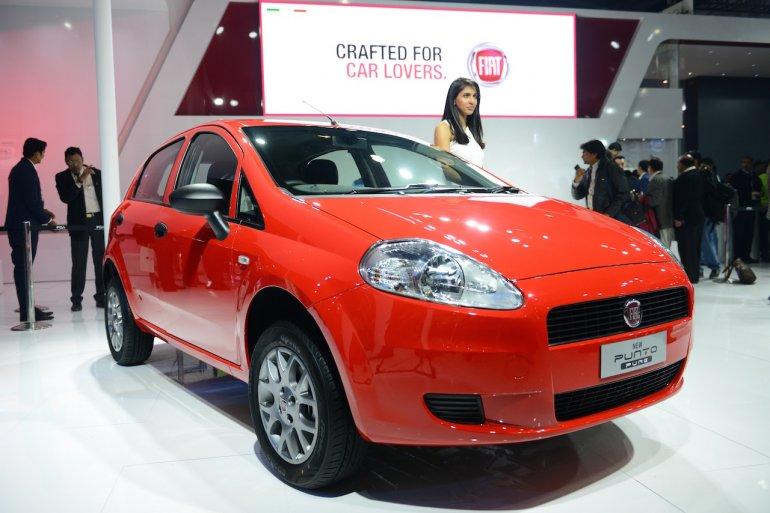 Fiat Punto Pure at 2016 Auto Expo