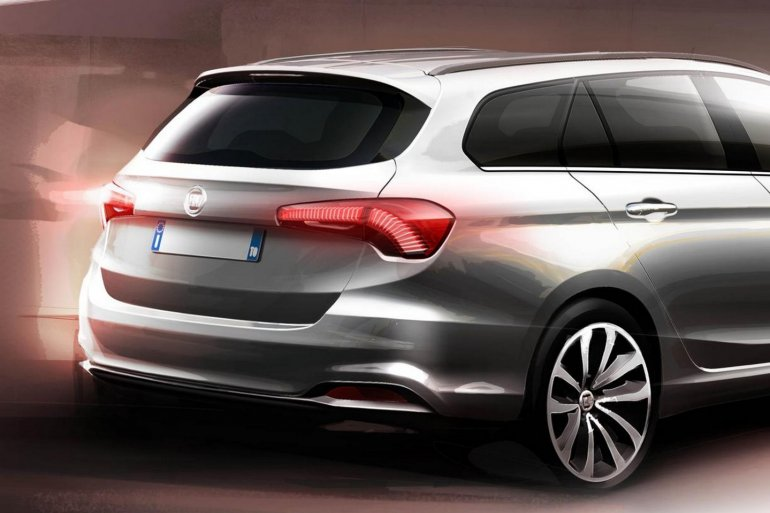 Fiat Tipo Station Wagon rear teaser