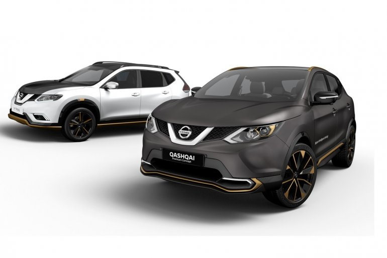 Nissan X-Trail Nissan Qashqai Premium concept