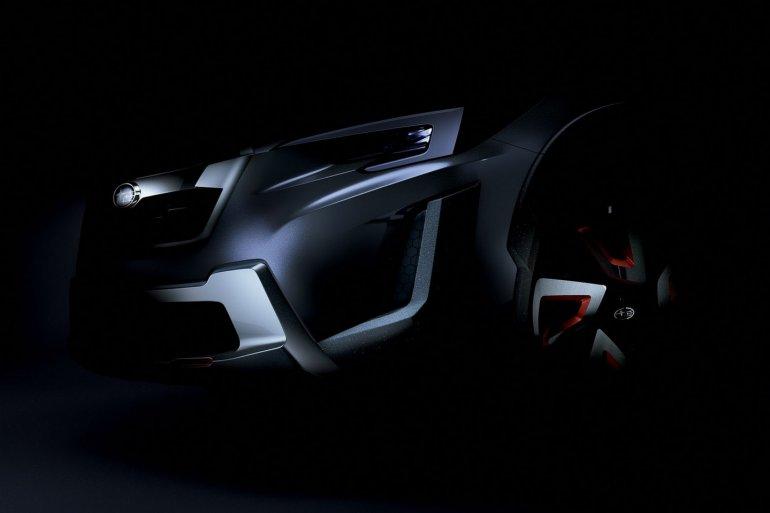 Subaru XV concept teased Geneva 2016