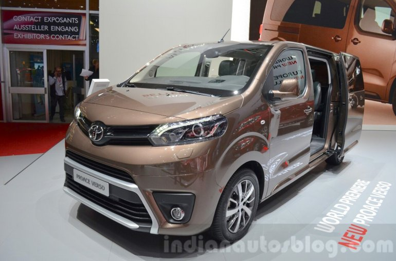 toyota proace verso geneva motor show live. Black Bedroom Furniture Sets. Home Design Ideas