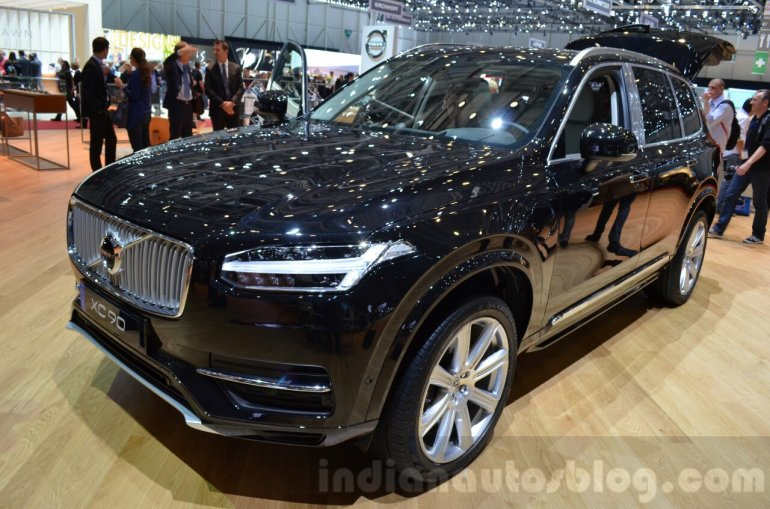 Volvo XC90 Excellence at the 2016 Geneva Motor Show