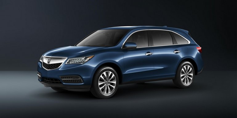 2015 Acura MDX front three quarters