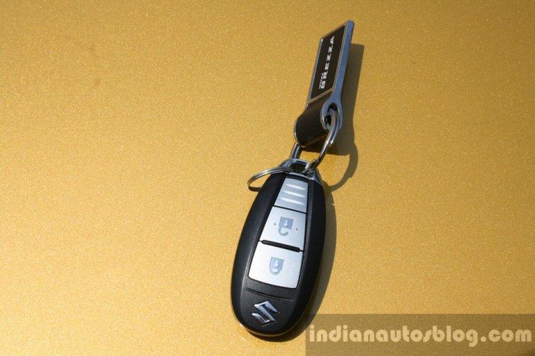 Maruti Vitara Brezza smart key First Drive Review