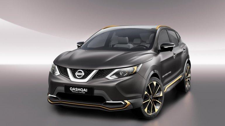 Nissan Qashqai front quarter to feature Autonomous 'Piloted Drive'
