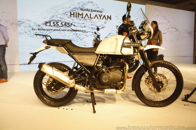 Royal Enfield Himalayan side launched