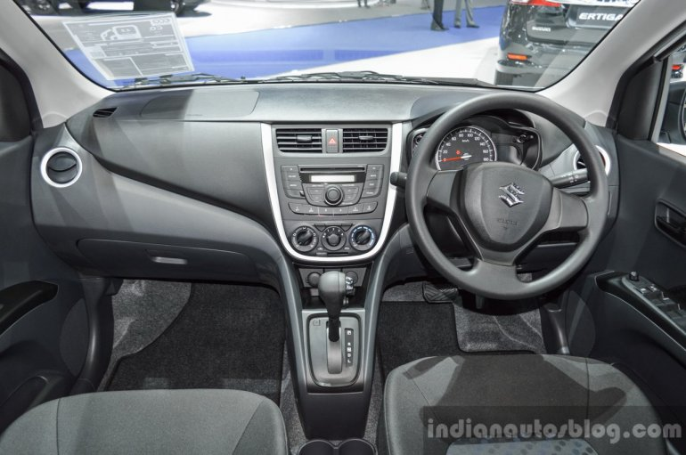Suzuki (Maruti) Celerio with body kit dashboard at the 2016 BIMS