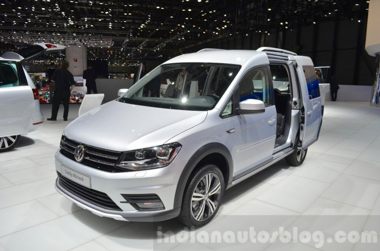 VW Caddy Alltrack at the 2016 Geneva Motor Show