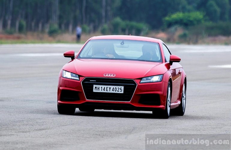 Audi Driving Experience with the Audi TT