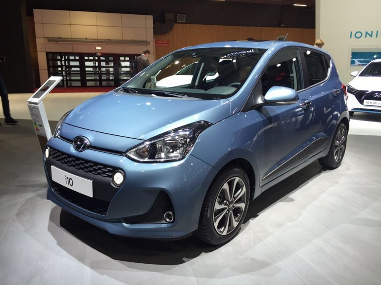 2017 Hyundai i10 facelift 2016 Paris show