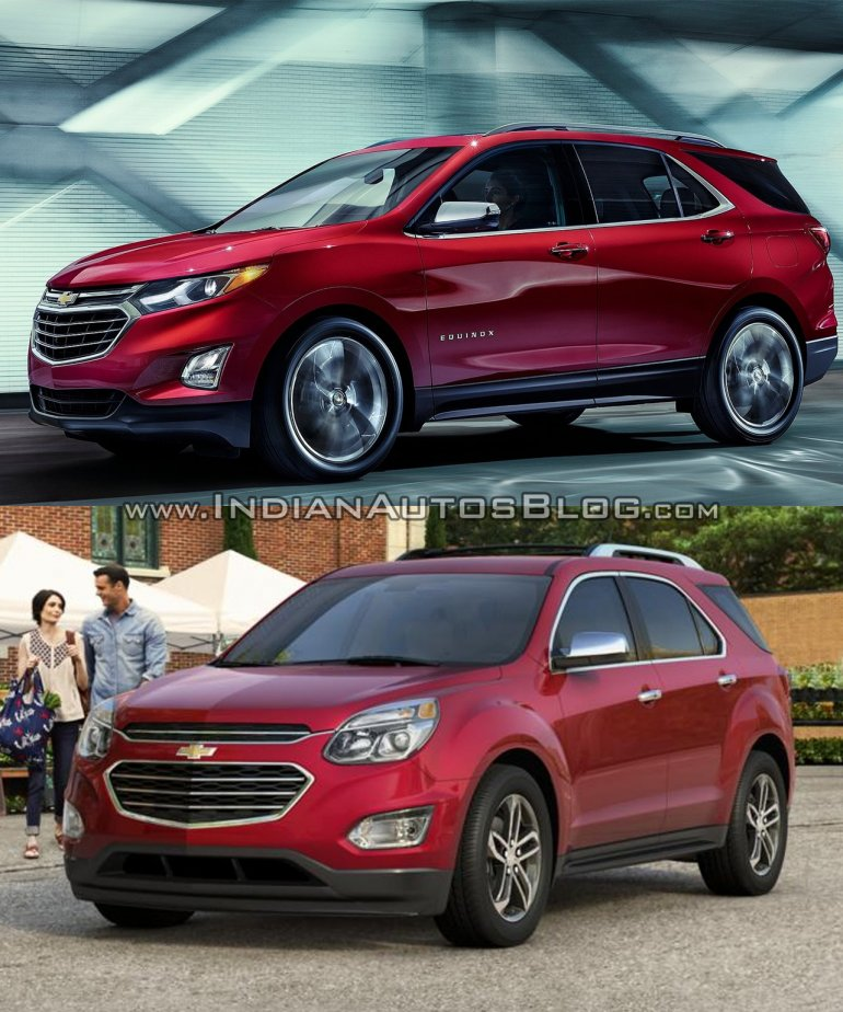 2018 Chevrolet Equinox vs 2016 Chevrolet Equinox - Images