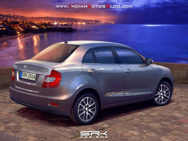 2017 Maruti Swift Dzire rendering