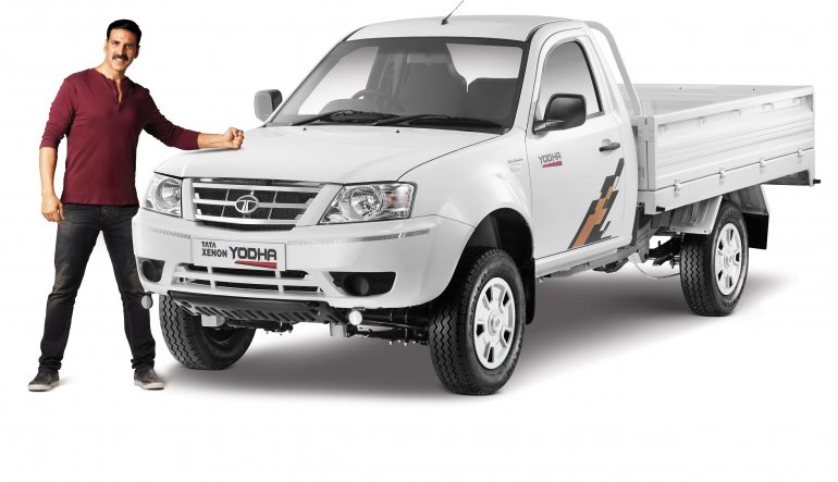 Tata Xenon Yodha front quarter pick up launched