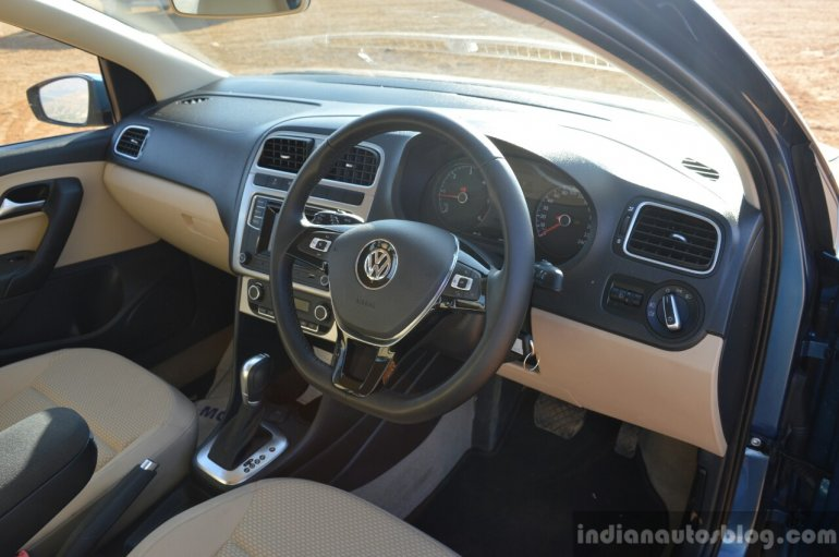 VW Ameo TDI DSG (AT) interior Review