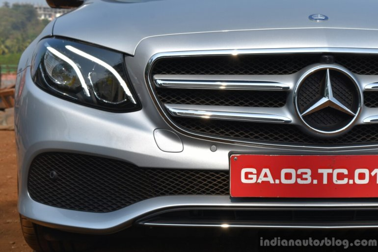 2017 Mercedes E Class (LWB) front close First Drive Review