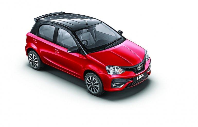 Dual tone Toyota Etios Liva exterior launched