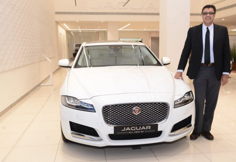 Locally produced 2017 Jaguar XF launched