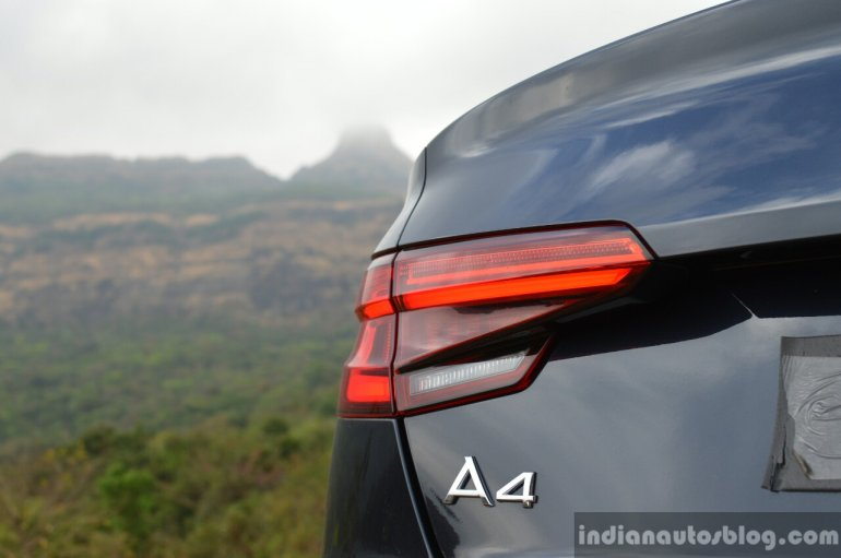 2017 Audi A4 35 TDI nameplate First Drive Review