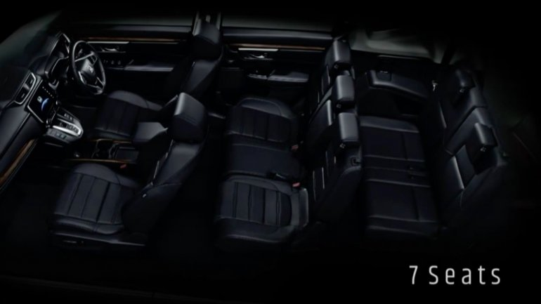 2017 Honda CR-V 7-seats teased Thailand
