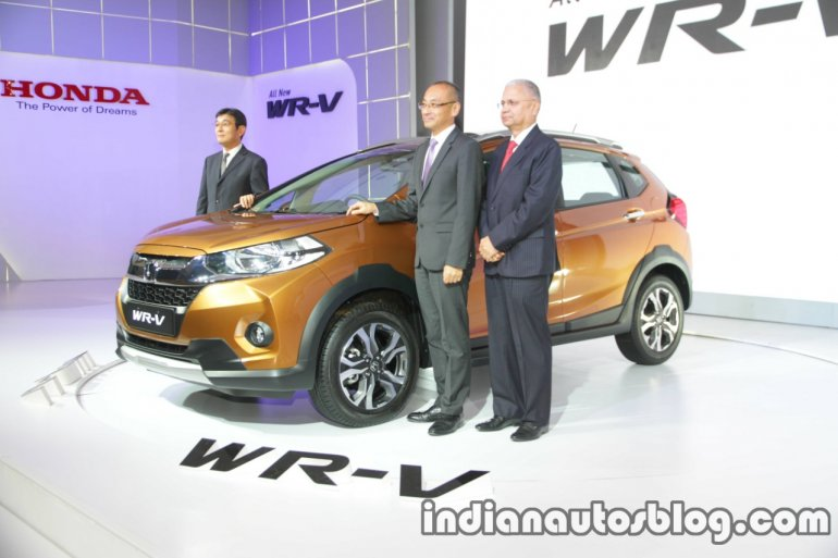 Honda WR-V launched in India live