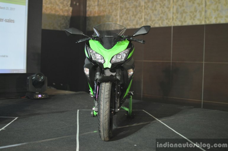 Kawasaki Ninja 300 front India launch