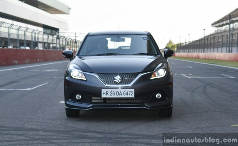 Maruti Baleno RS front dynamic First Drive Review