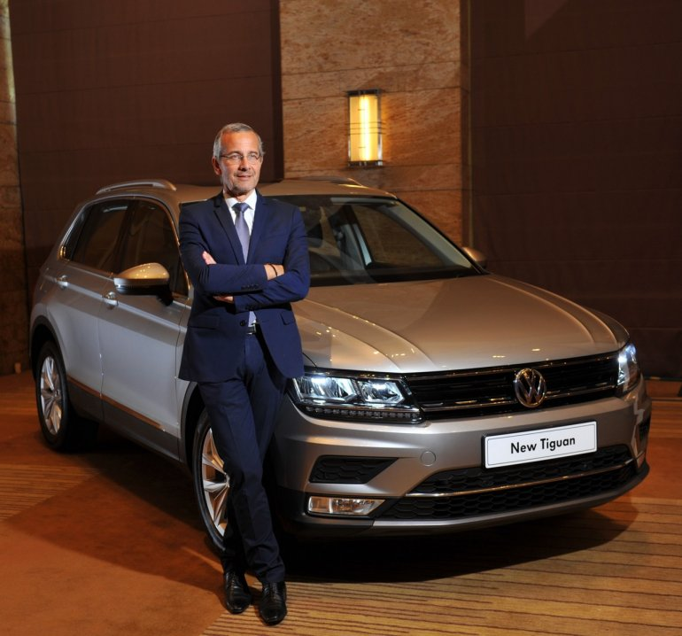 Volkswagen Tiguan launch India cover