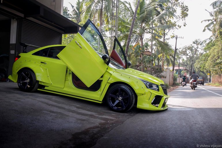 Custom Chevrolet Cruze Hyperwide by 360 Motoring side