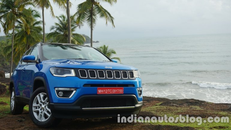 Jeep Compass front shot review
