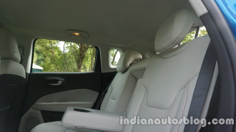 Jeep Compass rear headroom review