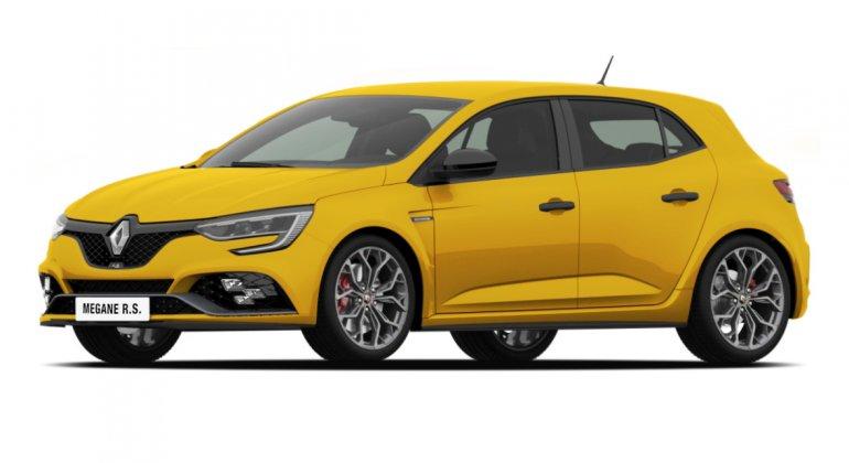 Renault Megane RS 2017 render front