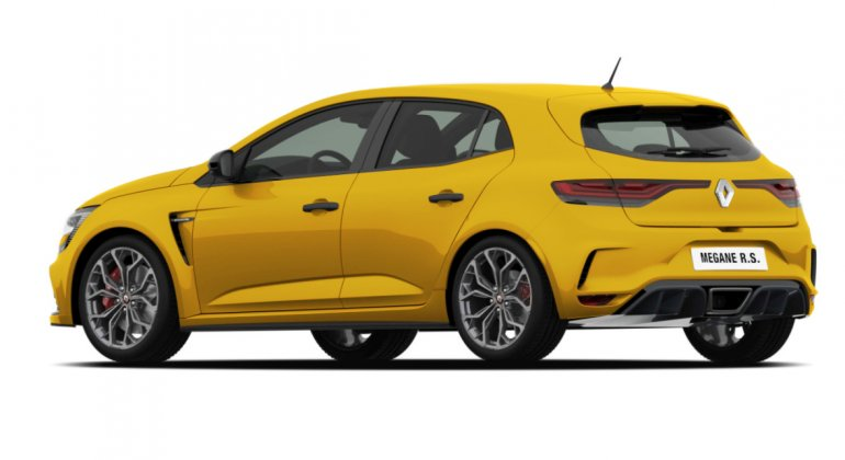 Renault Megane RS 2017 render rear
