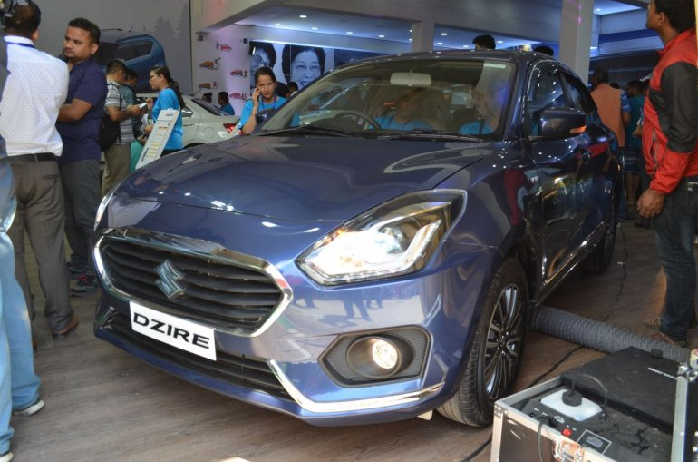 2017 Suzuki Dzire at the Nepal Auto Show