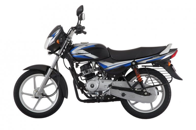 Bajaj CT100 ES Alloy left side