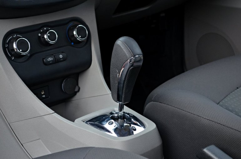 Tata Tiago AMT test drive review gear lever