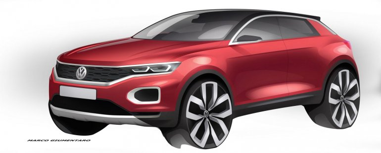 VW T-ROC latest picture