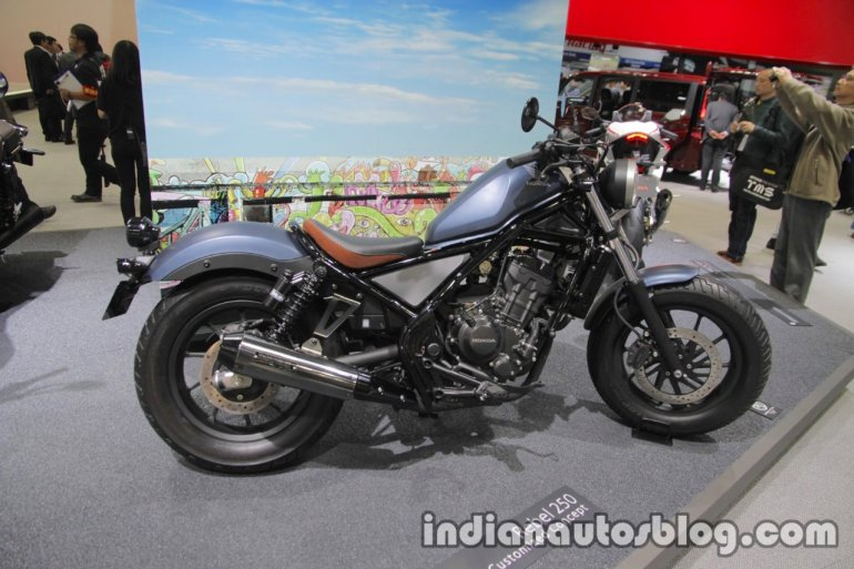 Honda Rebel 250 Custom Concept side