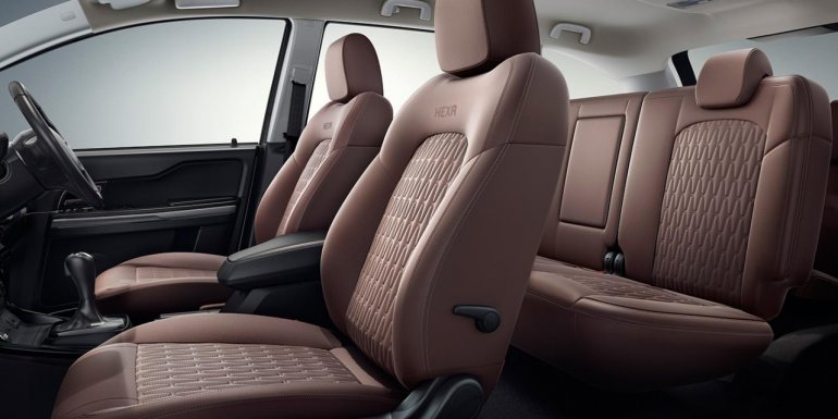 Tata Hexa Downtown Urban special edition seat covers