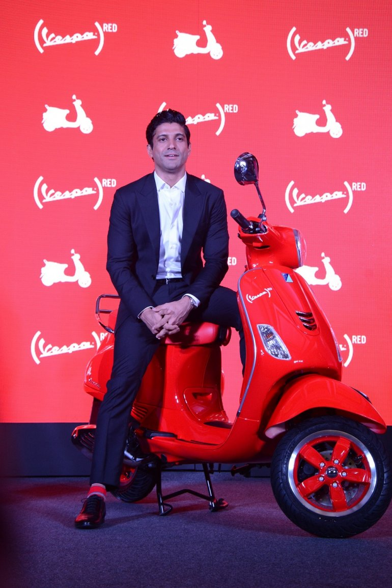 Vespa RED India launch