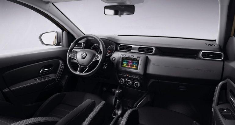 2018 Renault Duster dashboard