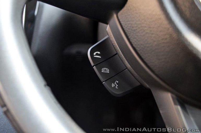 2018 Maruti Swift test drive review telephone controls
