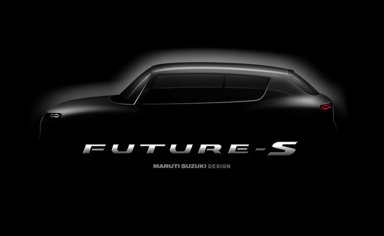 Maruti Suzuki FutureS concept teaser