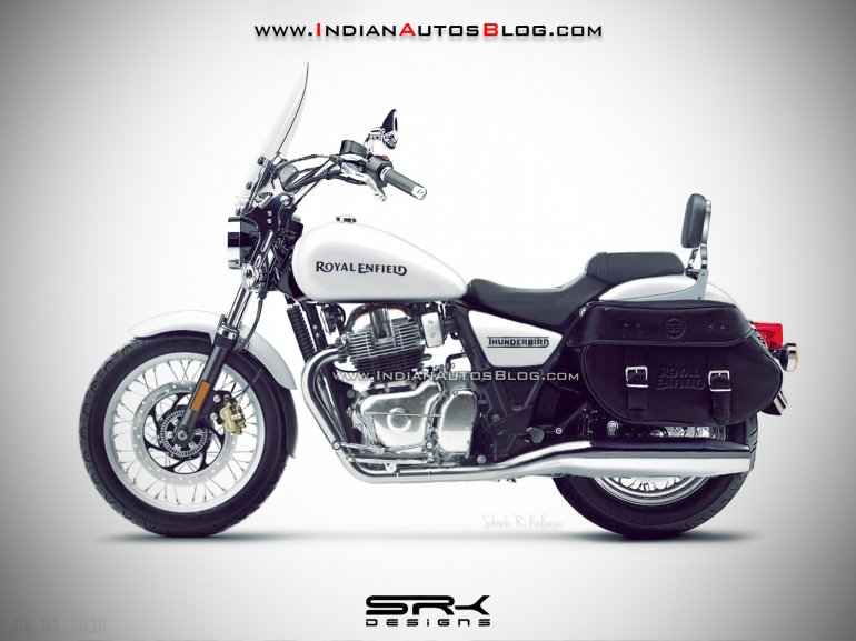 Royal Enfield Thunderbird 650 rendering