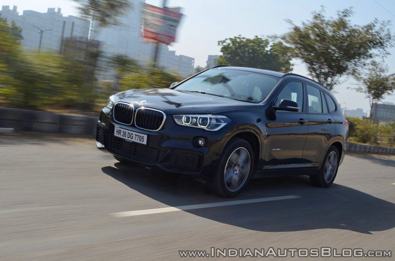 BMW X1 M Sport review front three quarters motion